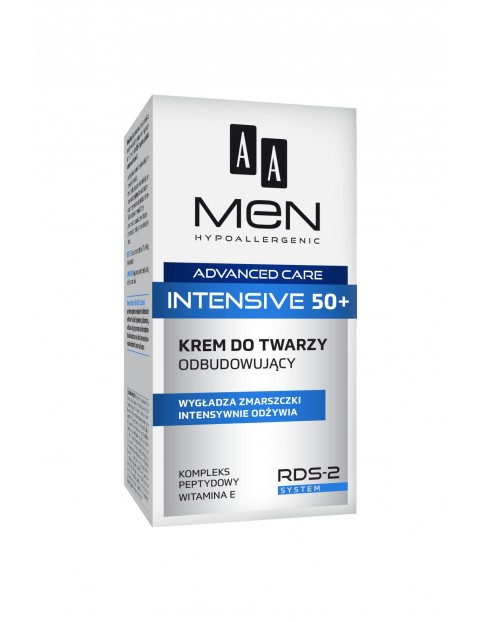 AA Men Advanced Care Intensive 50+ Krem do twarzy odbudowujący 50 ml