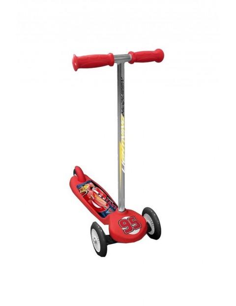 Hulajnoga balansowa 3kołowa dla chłopca Auta