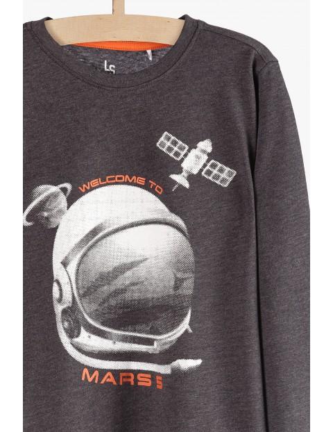 Szara bluzka dla chłopca- Welcome to Marss