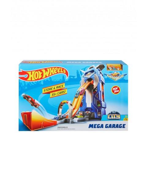 Hot Wheels City - Rajdowy garaż i Autko wiek 5+