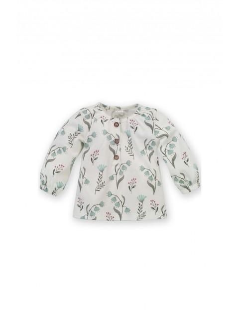 Dziewczęca bluzka z długim rękawem w kwiatki My Garden