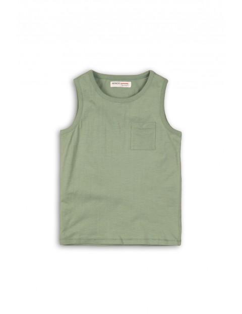 Koszulka khaki na ramiączka