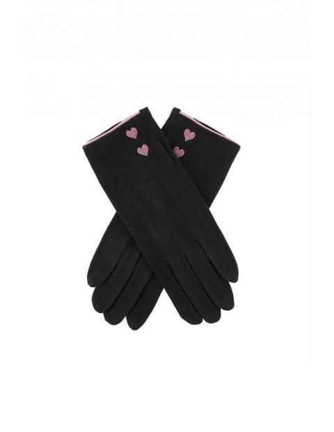 Rękawiczki damskie - czarne