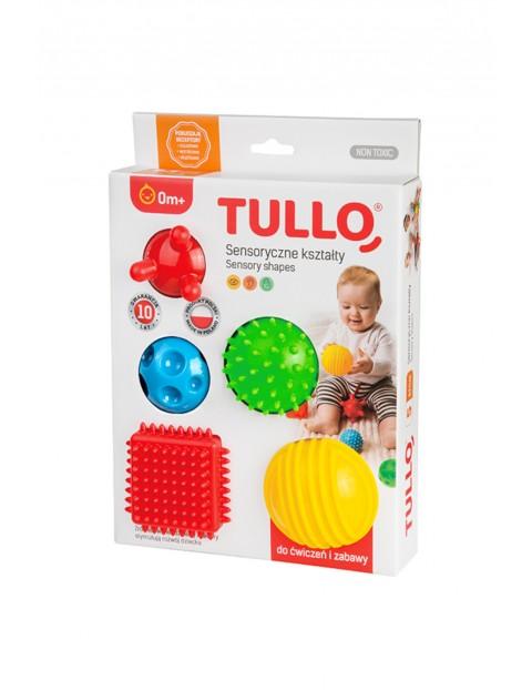 Zabawka sensoryczna- kolorowe kształty 5 szt