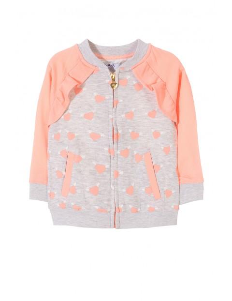 Bluza dresowa dziewczęca 3F3410
