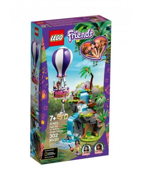 Lego Friends - Balonem na ratunek tygrysowi - 302 elementy wiek 7+