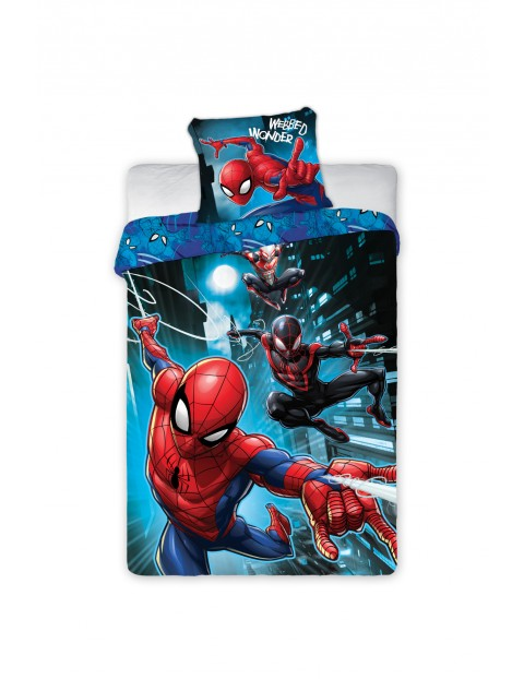 Komplet pościeli Spiderman-140x200+70x90 cm