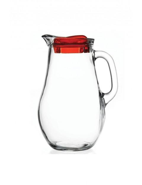 Dzbanek szklany z uchwytem i pokrywką 2,1L