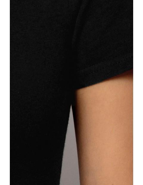 Koszulka damska czarna Atlantic