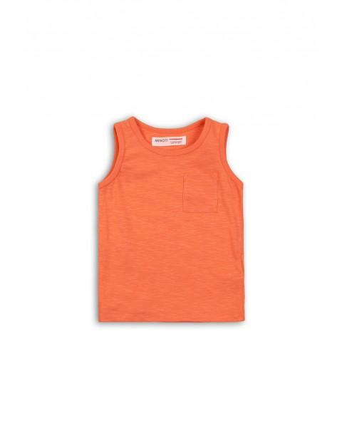 Pomarańczowa koszulka na ramiączka rozmiar 92/98