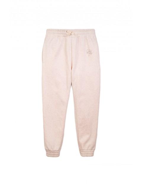 Spodnie dresowe dla dziewczynki