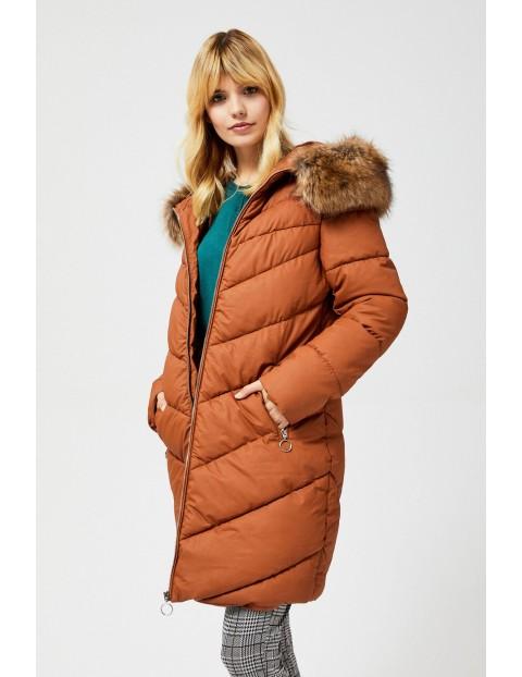 Pikowana kurtka damska