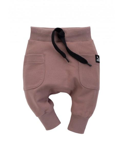 Spodnie  pumpy chłopięce Dreamer w kolorze beżowym