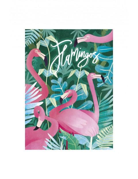 Puzzle Fantastyczne zwierzęta flamingi - 500 elementy