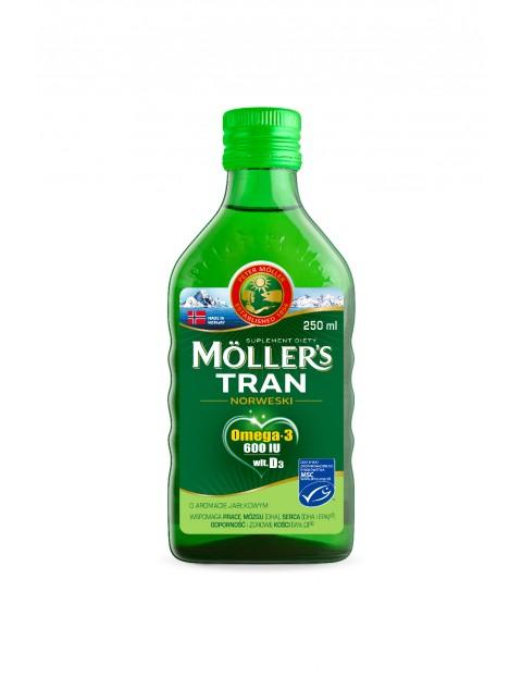 Möller's Tran Norweski- aromat Jabłkowy 250ml