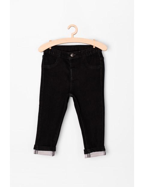 Spodnie niemowlęce jeansowe- czarne