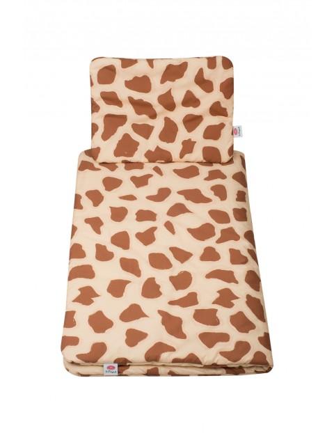 Pościel bawełniana dla niemowlaka Żyrafa 95x75cm+30x40cm