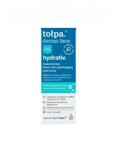 Tołpa dermo face hydrativ Hialuronowy krem-żel nawilżający pod oczy 10 ml
