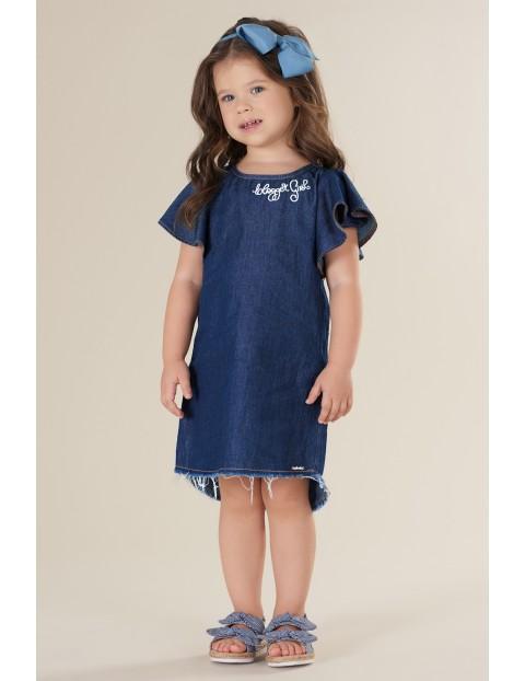 Sukienka dziewczęca jeansowa