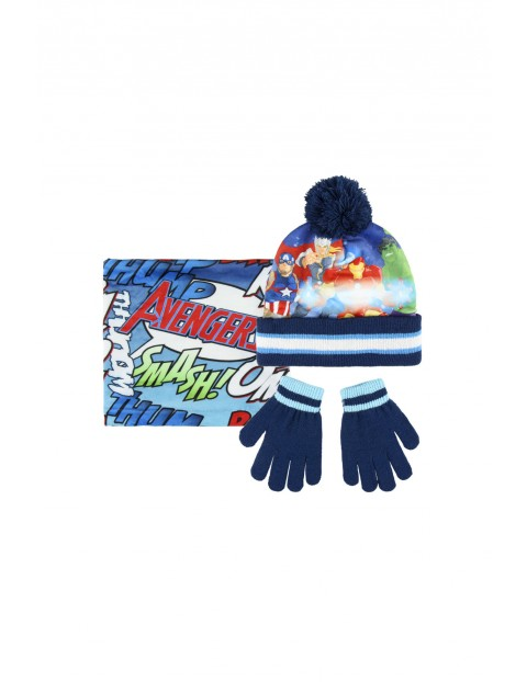 Komplet czapka, szalik rękawice 1X35BB