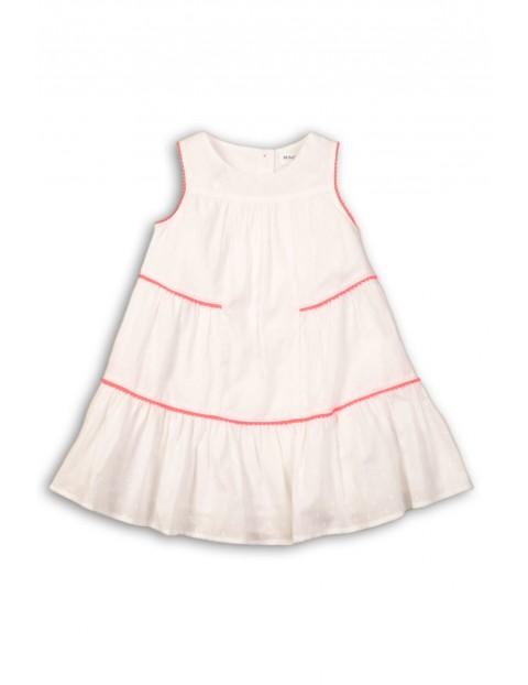 Sukienka dziewczęca na lato biała