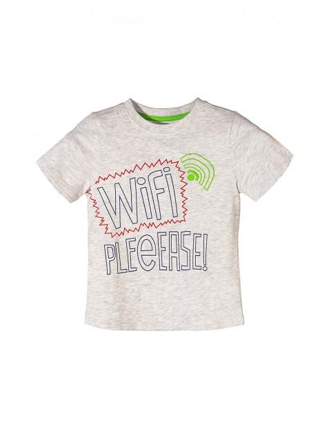 Koszulka chłopięca Wi-Fi