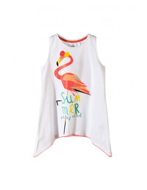 T-shirt dziewczęcy 4I3435