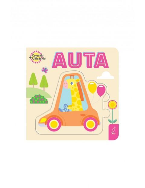 Książka dla dzieci- Auta. Czytanki-układanki 0+