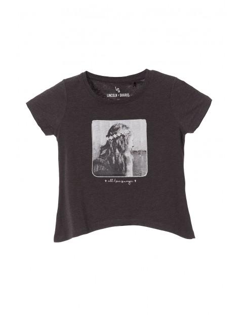 T-shirt dziewczęcy 4I3314