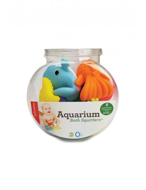 Infantino Kąpielowe zwierzątka w akwarium 8szt