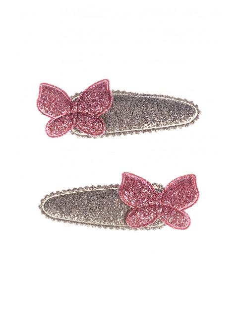 Spinki do włosów Motylki