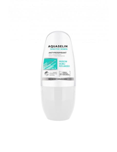 Aquaselin Sensitive Women Specjalistyczny antyperspirant roll-on 50 ml