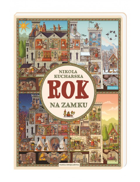 Rok na zamku - Książka dla dzieci