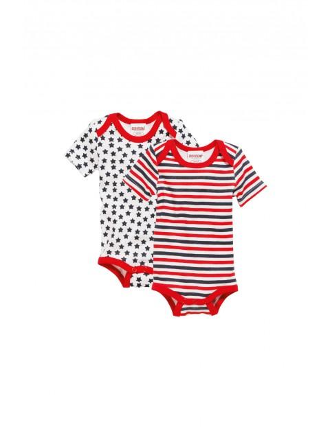 Body z krótkim rękawem dla niemowlaka