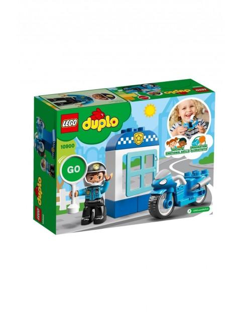 Lego  Duplo - Motocykl policyjny - 8 elementów wiek 2+