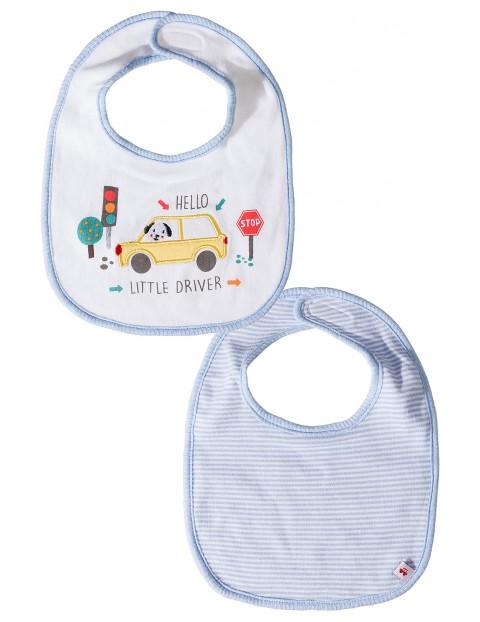 Śliniak niemowlęcy- dwupak 5O3502