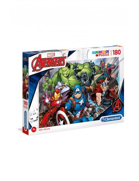 Puzzle Super Color Avengers  - 180 elementów wiek 7+