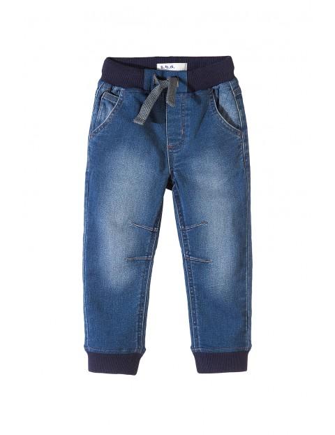 Spodnie chłopięce jeansowe 1L3505