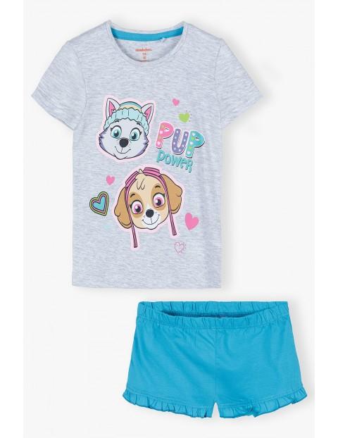 Bawełniana pidżama dziewczęca Psi patroL