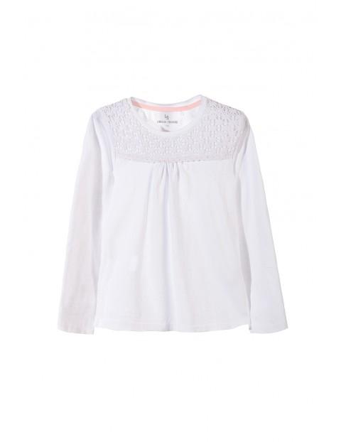 Bluzka dziewczęca długi rękaw 4H3304