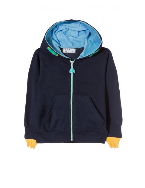 Bluza rozpinana chłopięca 1F3510