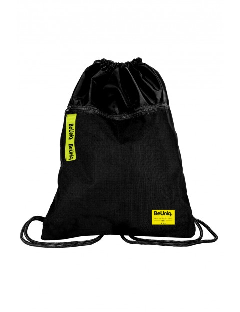 Worek na obuwie czarno-żółty