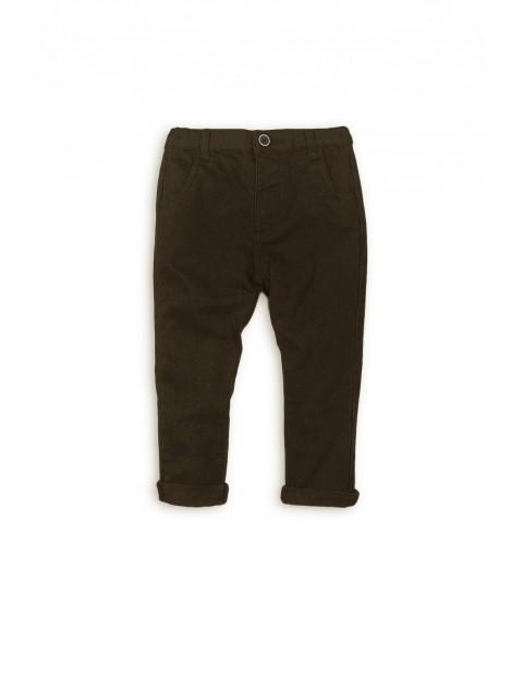Spodnie dla chłopca chinosy 5L35AJ