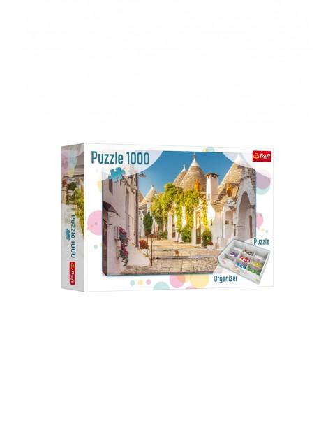 Puzzle 1000 el. Włochy + organizer