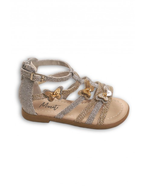 Sandały dziewczęce na lato