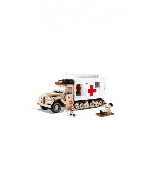 Klocki Cobi Small Army Ford V3000S Maultier Ambulance 535el