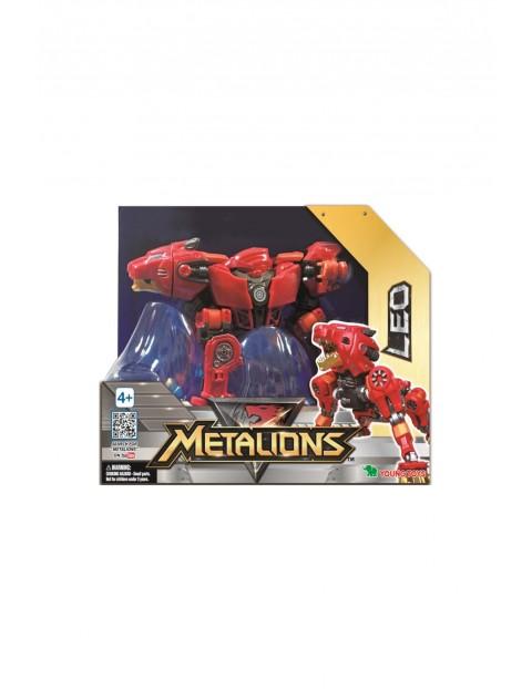 Metalions Leo Robot transformer figurka wiek 4+