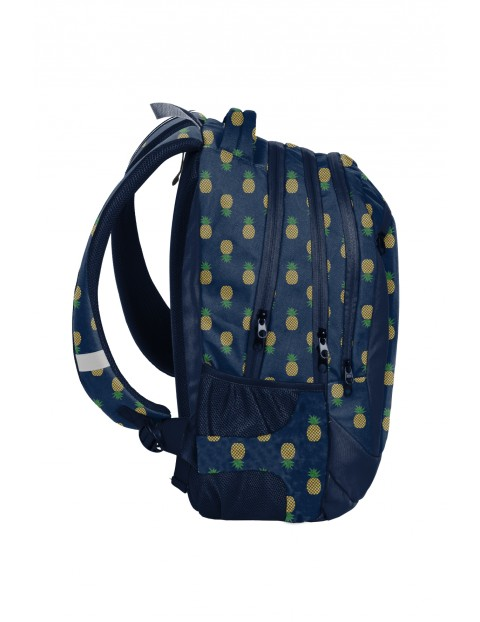 Plecak szkolny PASO w ananasy
