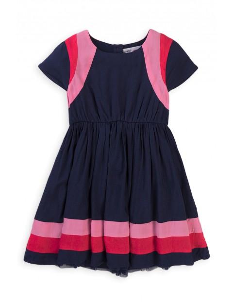 Sukienka niemowlęca z rozkloszowanym dołem