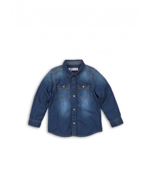 Koszula chłopięca jeansowa 2J34A1